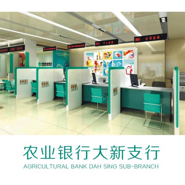 农业银行大新支行